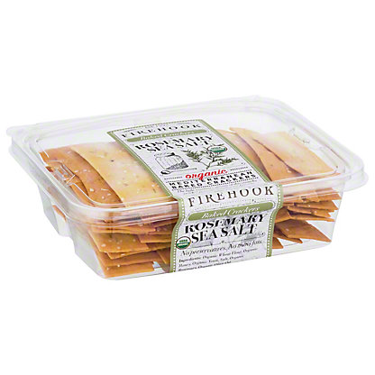 Firehook Baked Rosemary and Cheese Crackers,8OZ