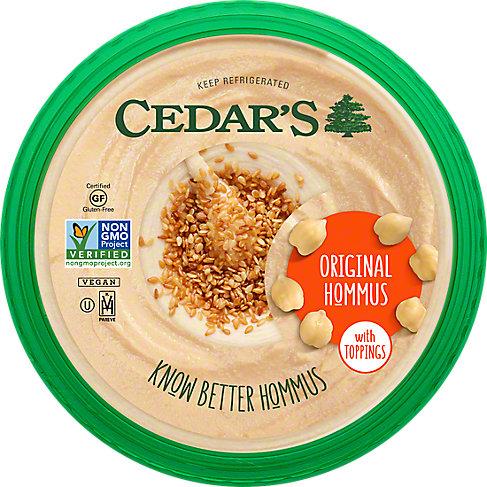 Cedar's Original Hommus, 10 OZ