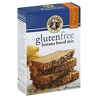 King Arthur Gluten Free Banana Bread Mix, 16 oz