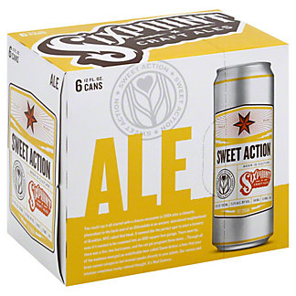 Six Point Sweet Action 12 oz Cans, 6 pk