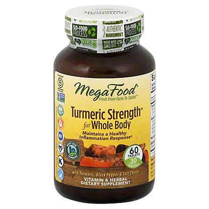 Mega Food Turmeric Extra Strength,60 CAP