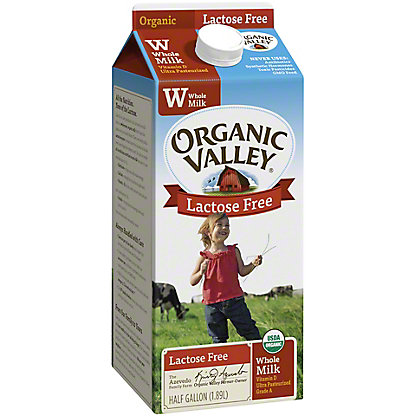 Organic Valley Lactose Free Whole Milk,64OZ