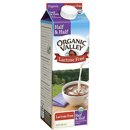 Organic Valley Lactose Free Half & Half, 32 oz