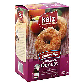 Katz Gluten Free Cinnamon Donuts, 10.50 oz