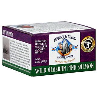 Henry & Lisas Wild Alaskan Pink Salmon, 7.5OZ