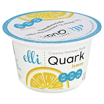 Elli Quark Lemon,6OZ