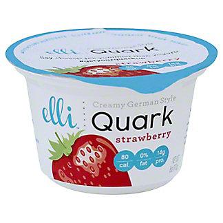Elli Quark Strawberry Yogurt,6 oz