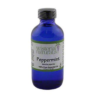 Wisteria Naturals Peppermint Essential Oil, 4 fl. oz.