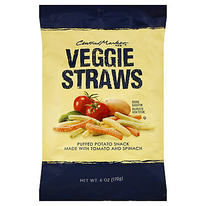Central Market Original Veggie Straws,6 OZ
