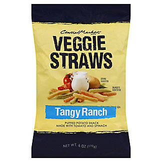Central Market Ranch Veggie Straws,6 OZ