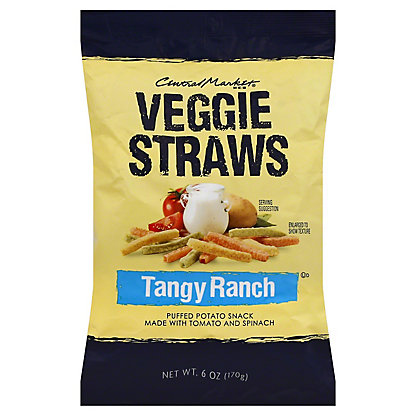 Central Market Ranch Veggie Straws,6 OZ