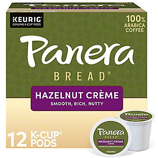 Panera Bread Hazelnut Creme Single Serve Coffee Cups, 12 ct
