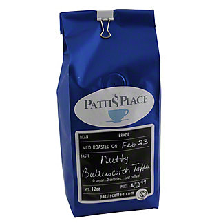 PATTIS PLACE Pattis Place Nutty Butterscotch Toffee Coffee,12 OZ