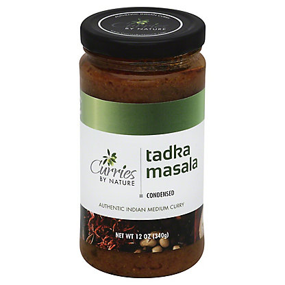 Curries By Nature Tadka Masala Sauce,12OZ
