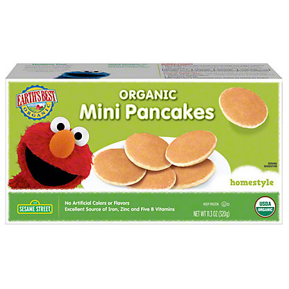Earth's Best Organic Mini Pancakes Homestyle,11.3OZ
