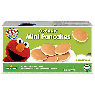 Earth's Best Organic Mini Pancakes Homestyle,11.3OZ