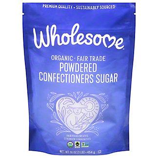 Wholesome Organic Powdered Sugar, 16 oz