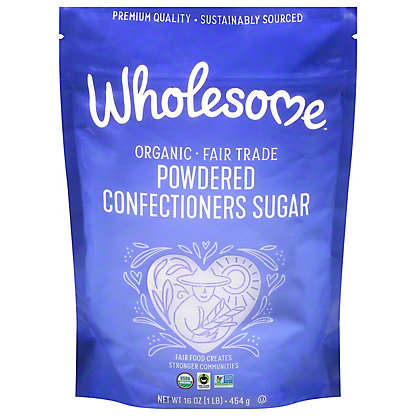 Wholesome Organic Powdered Sugar, 16 oz