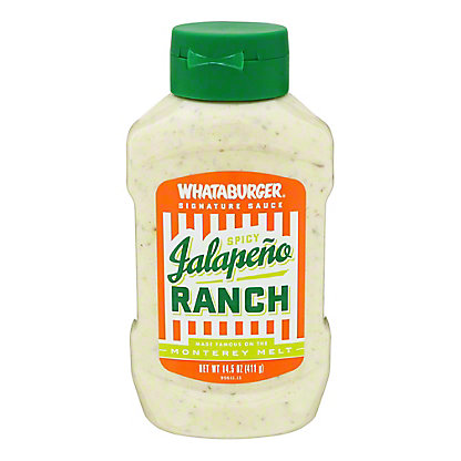 Whataburger Spicy Jalapeno Ranch, 14 oz