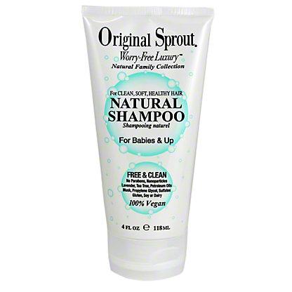 Original Sprout Little Natural Shampoo, 4 oz