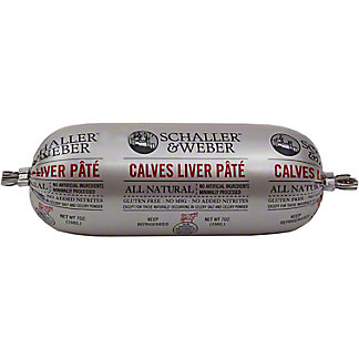 Schaller & Weber Calves Liver Pate,7 OZ