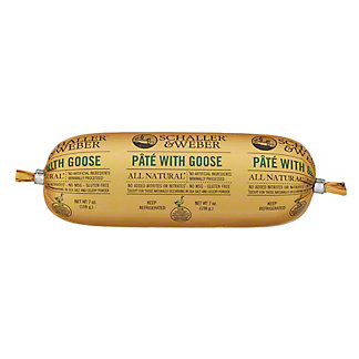Schaller & Weber Pate With Goose,7 OZ