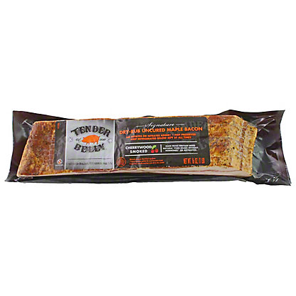 TENDER BELLY Tender Belly Uncured Maple Dry Rub Bacon,16 OZ