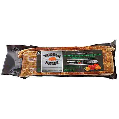 TENDER BELLY Tender Belly Uncured Habanero Dry Rub Bacon,16 OZ