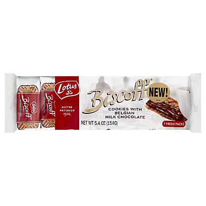 Lotus Biscoff With Chocolate Cookies,5.4 OZ