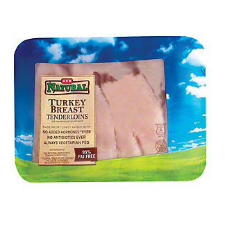 H-E-B Natural Turkey Tenderloins,LB