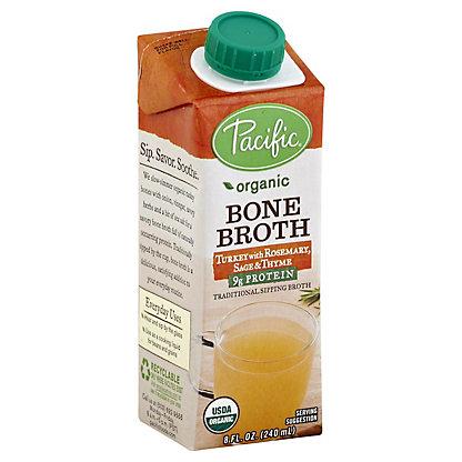 Pacific Foods Organic Bone Broth Turkey Herb,8 OZ