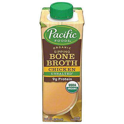 Pacific Foods Organic Bone Broth Chicken Original,8 OZ