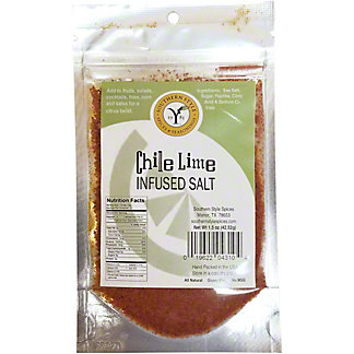 Southern Style Spices Chile Lime Infused Salt, 1.5 oz
