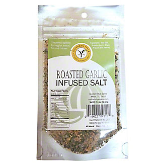 Southern Style Spices Roasted Garlic Infused Salt, 1.5 oz