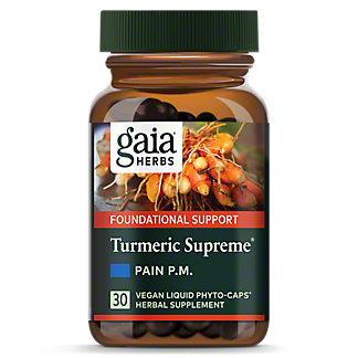 Gaia Herbs Tumeric Supreme Pain PM, 30 CAP