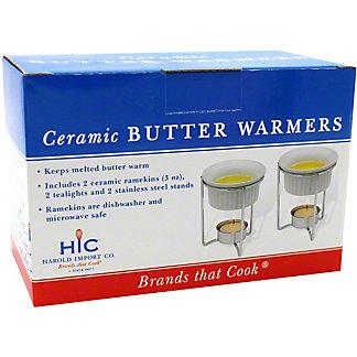 Harold Import Ceramic Butter Warmer, ea