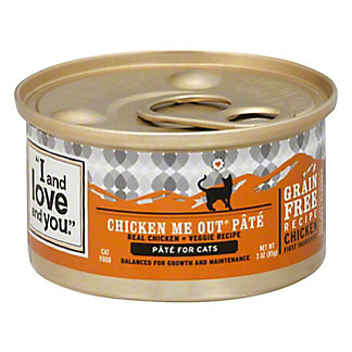 I and love and you Chicken Lickin Good Cat Food,3OZ
