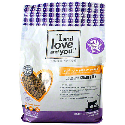 I And Love And You Nude Poultry a Plenty Cat Food, 5 lb