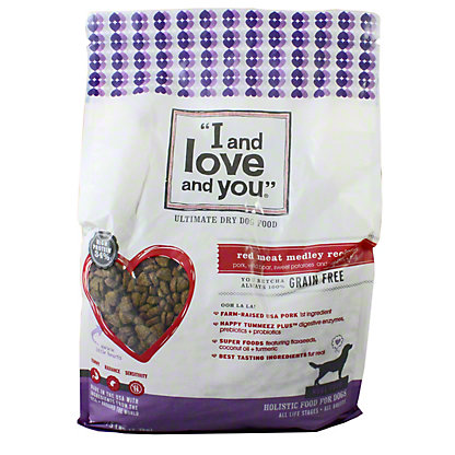 I and Love and You Nude Red Meat Melody Dog Food, 5 lb