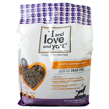I and Love and You Nude Poultry Palooza Dog Food, 5 lb