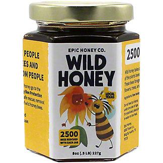 Central Texas Bee Rescue 100% Wild Honey, 8OZ
