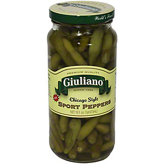 Giuliano Sport Peppers,16.00 oz