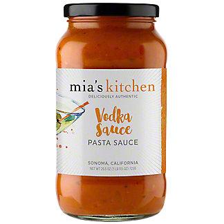 Mia's Kitchen Pasta Sauce Vodka,25.5 oz