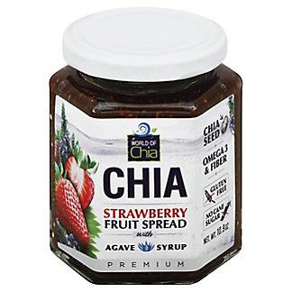 World Of Chia Strawberry Agave Chia Spread, 10.90 oz