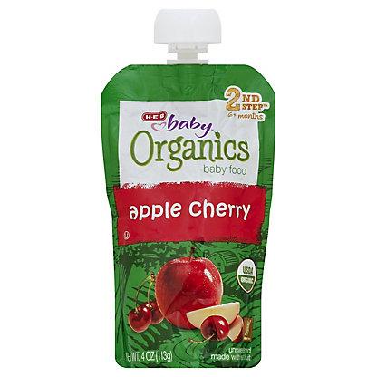 H-E-B Baby Organics Apple Cherry,4 oz