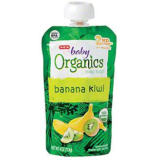 H-E-B Baby Organics Banana Kiwi,4.00 oz