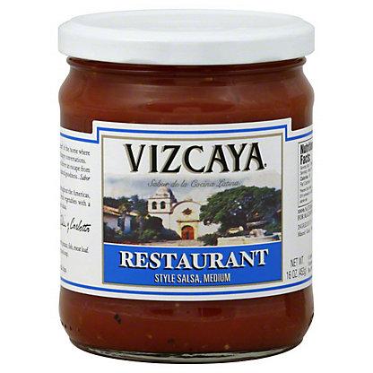 Vizcaya Restaurant Style Medium Salsa,16OZ