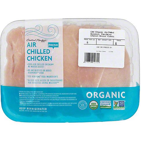 Central Market Organics Chicken Breast Cutlet