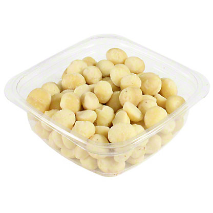 Bulk Out of Africa Roasted Unsalted Macadamia,LB