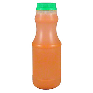 Central Market Cold Pressed Carrot Juice, 16 Oz
